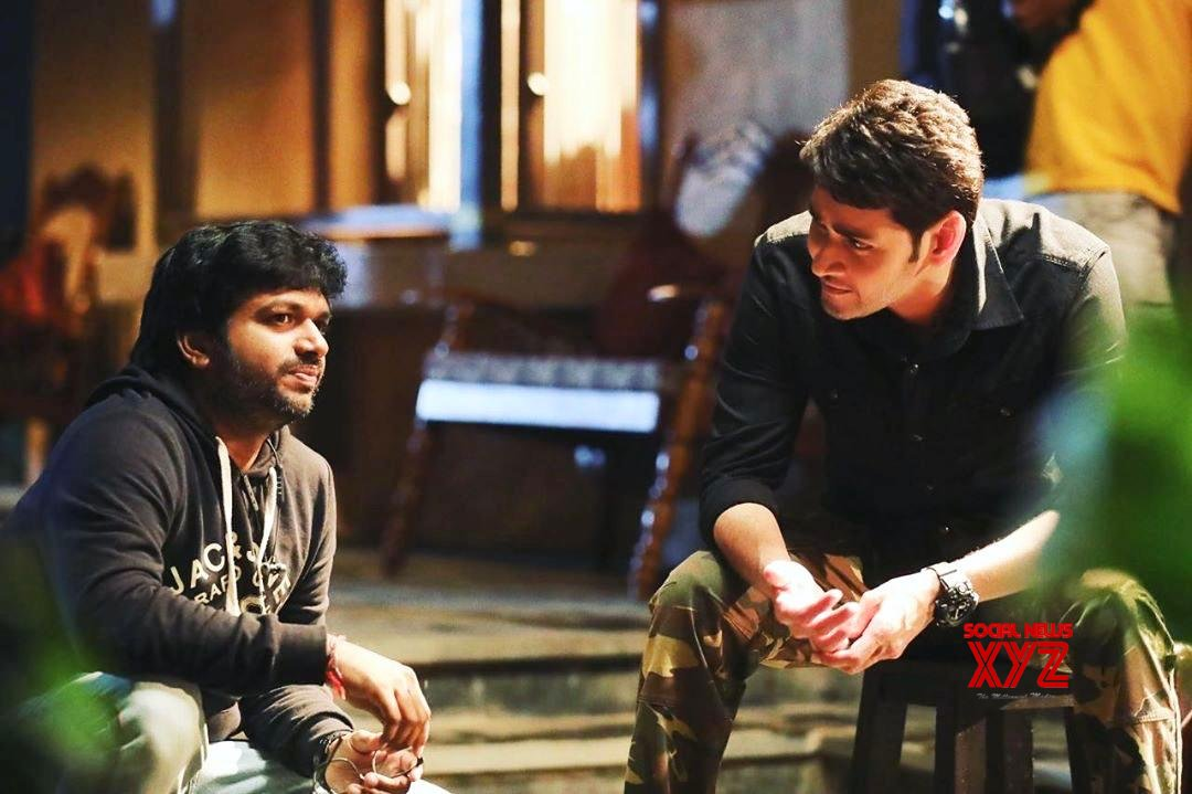 Mahesh Babu And Anil Ravipudi Latest Still From The Sets Of Sarileru Neekevvaru