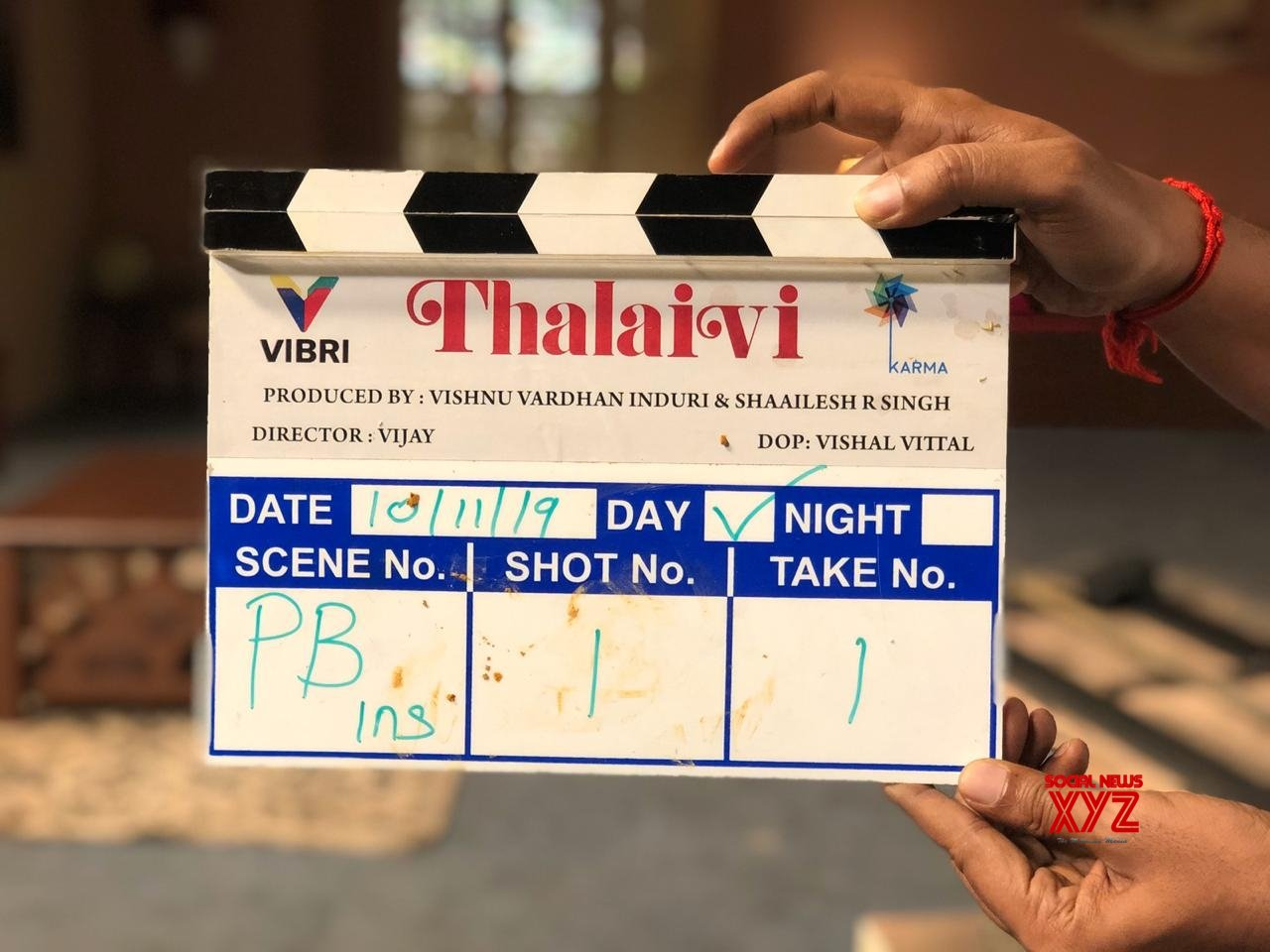 "Chennai: Jayalalitha Biopic Titled ""Thalaivi"" Shoot Begins In Chennai #Gallery"