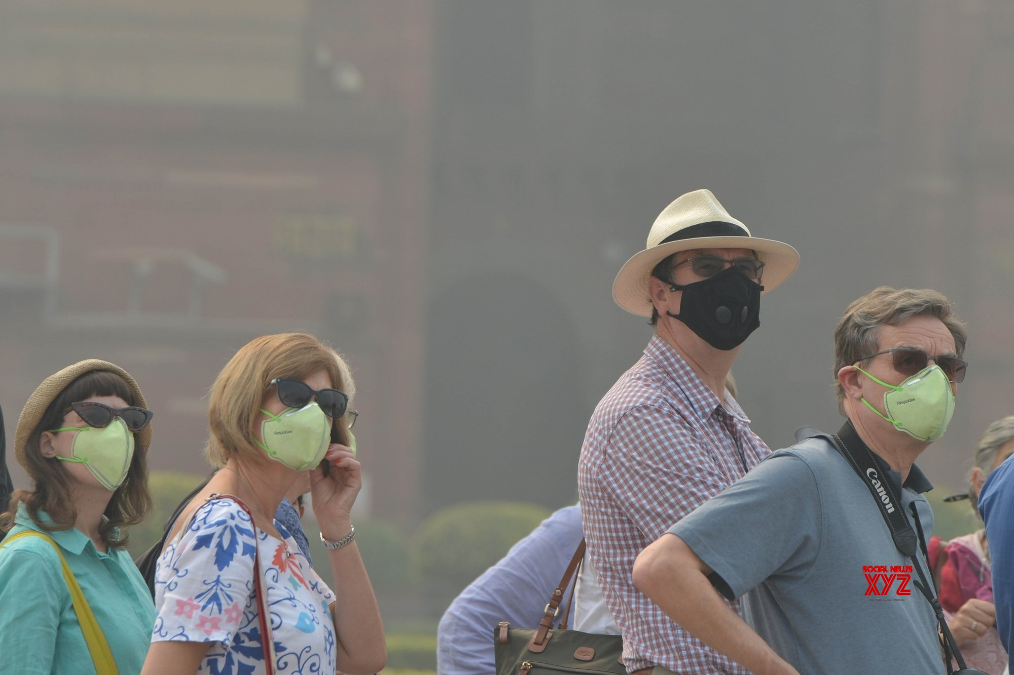Now you can experience Delhi's toxic air in Madrid too