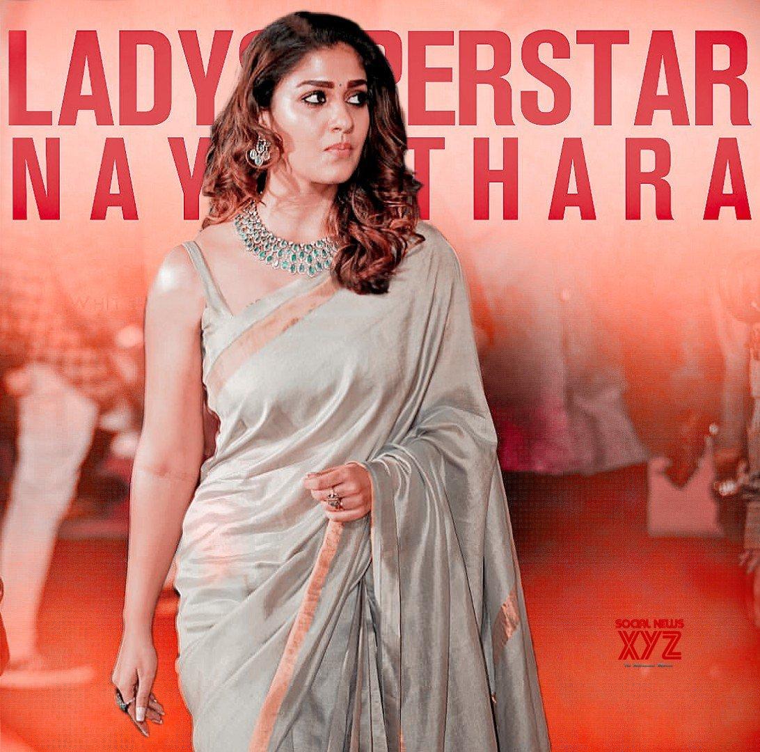 Lady Superstar Nayanthara Birthday 2019 Wishes Poster