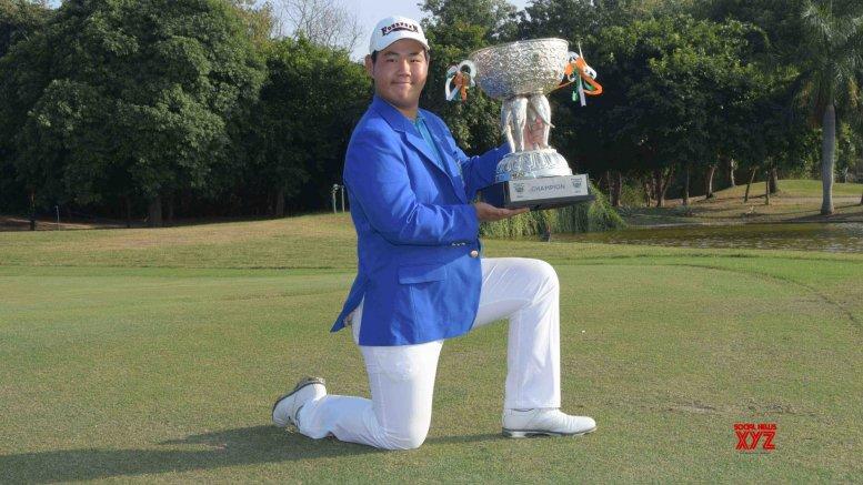 Korean Kim grabs Open India golf title