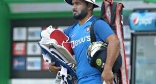 Rishabh Pant .