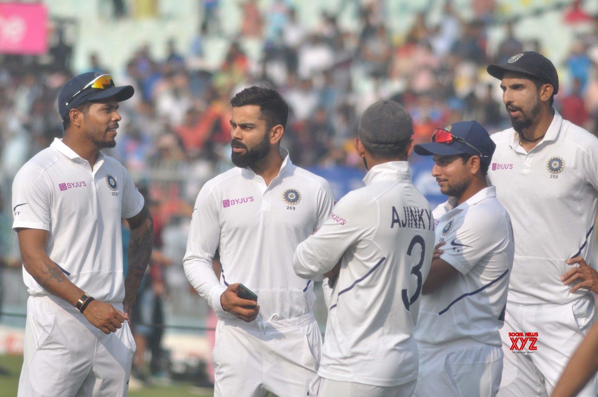 The pink ball affair: India versus England