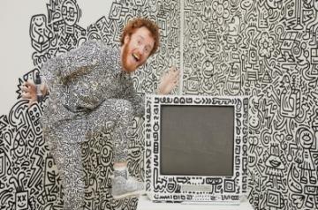 Doodle artist recreates iconic art history