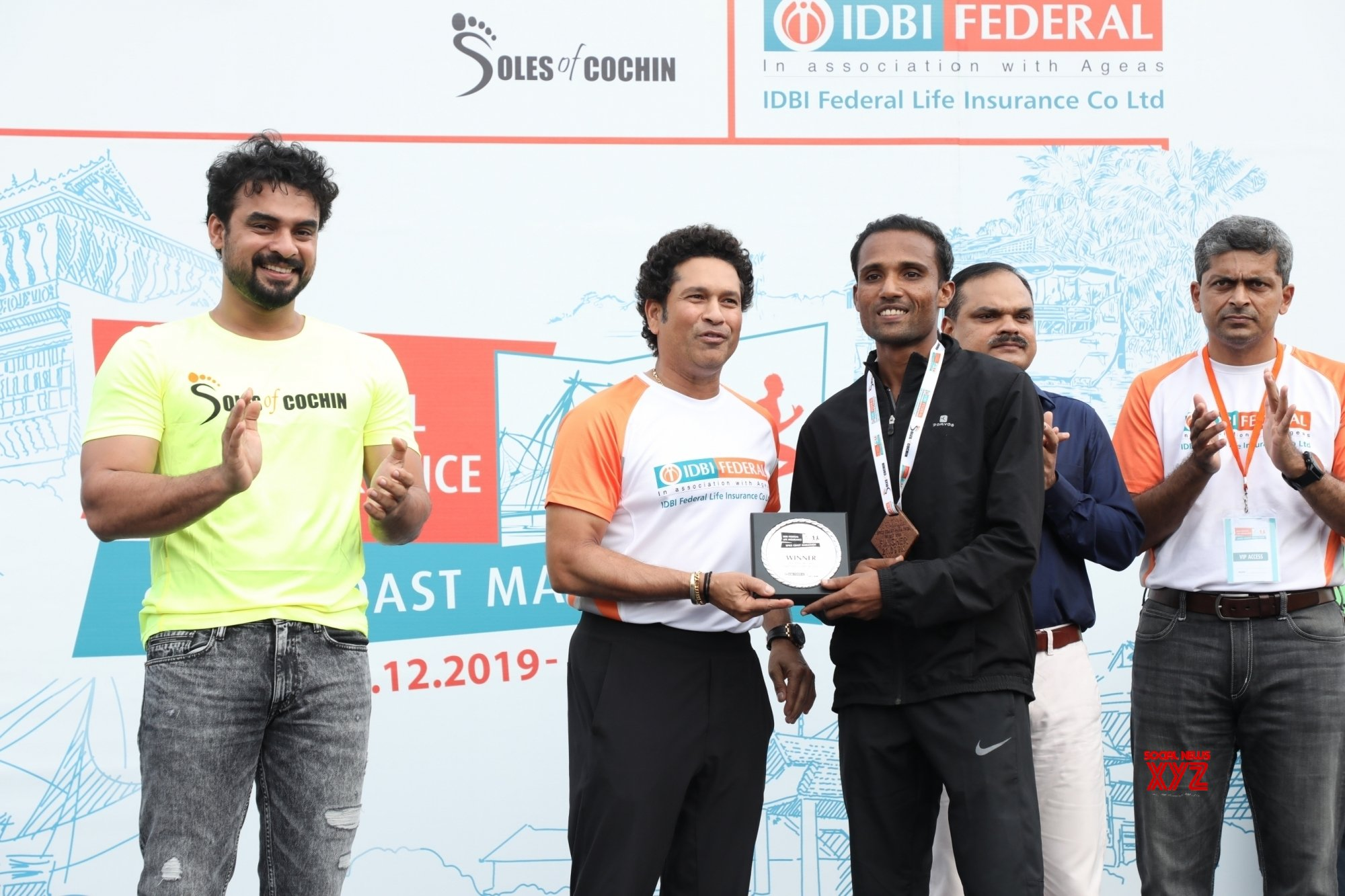 John Paul, Shino Mol bag gold at Spice Coast Marathon 2019