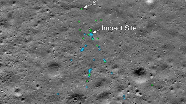'Were they debris of Indian moon lander Vikram?'