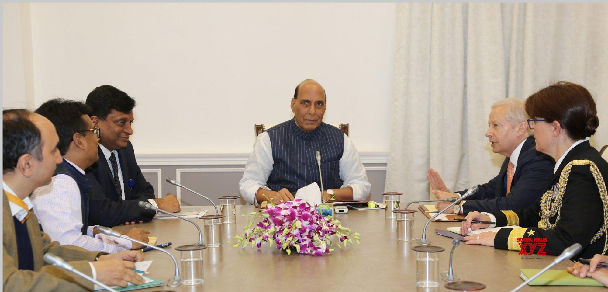 New Delhi: US Ambassador Kenneth Juster meets Rajnath Singh #Gallery