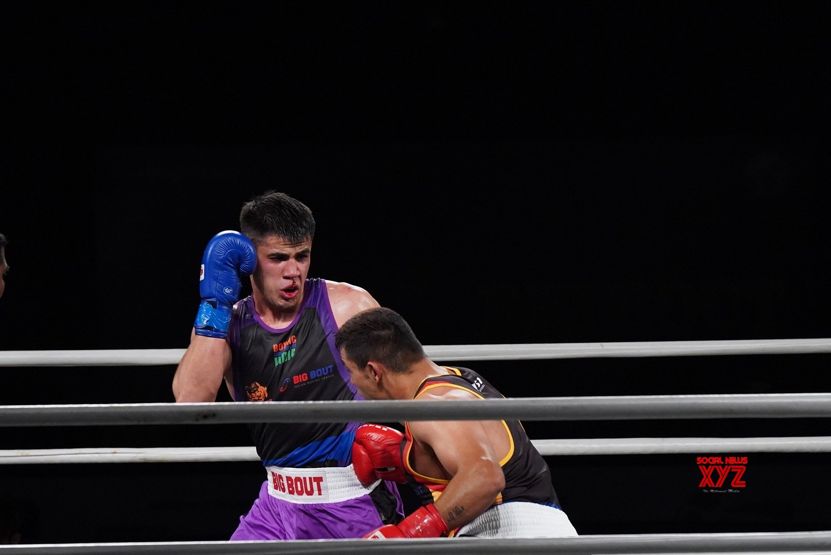 Greater Noida (Uttar Pradesh): Big Bout Indian Boxing League #Gallery