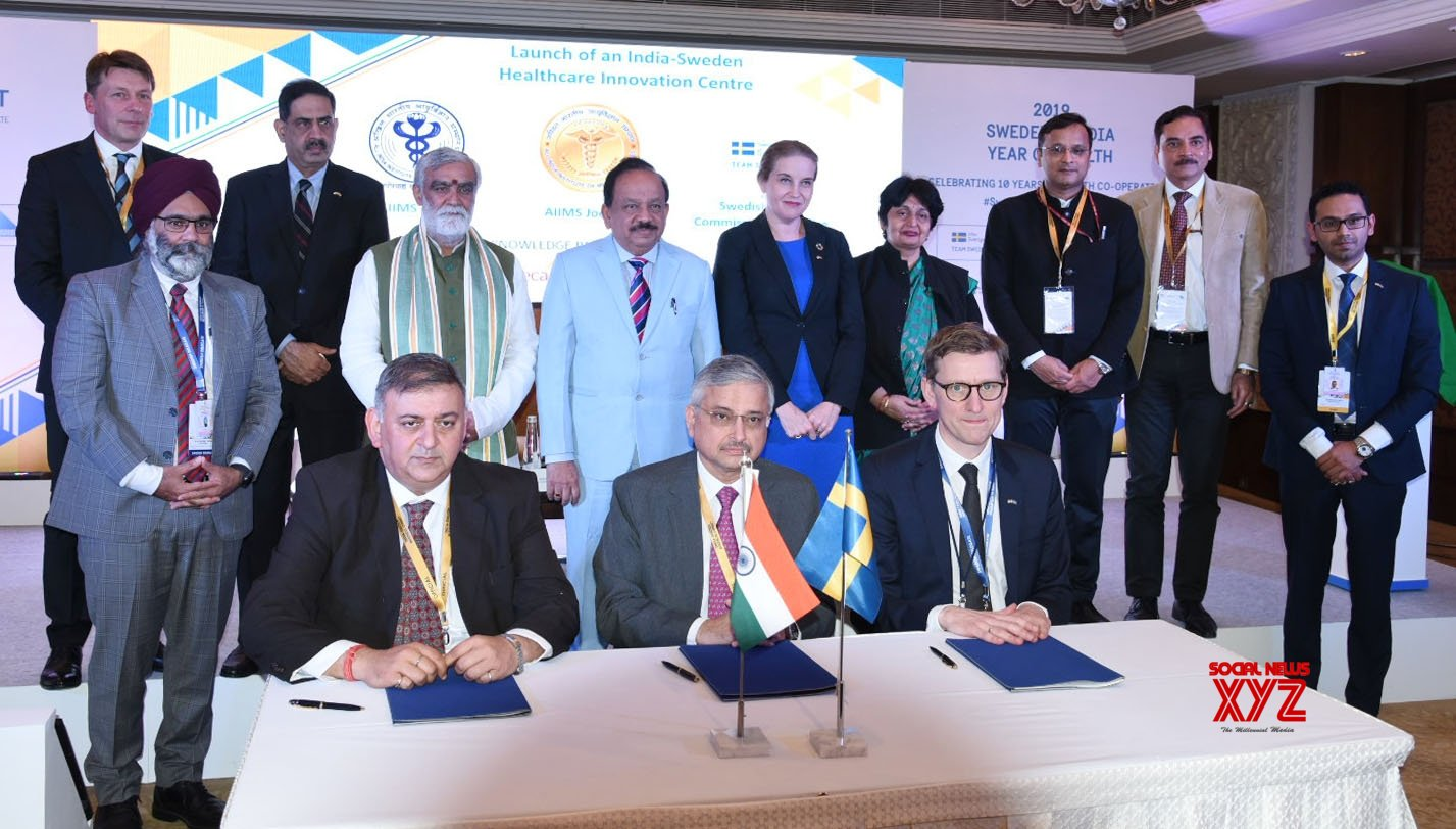 New Delhi: India - Sweden MoI signing ceremony #Gallery