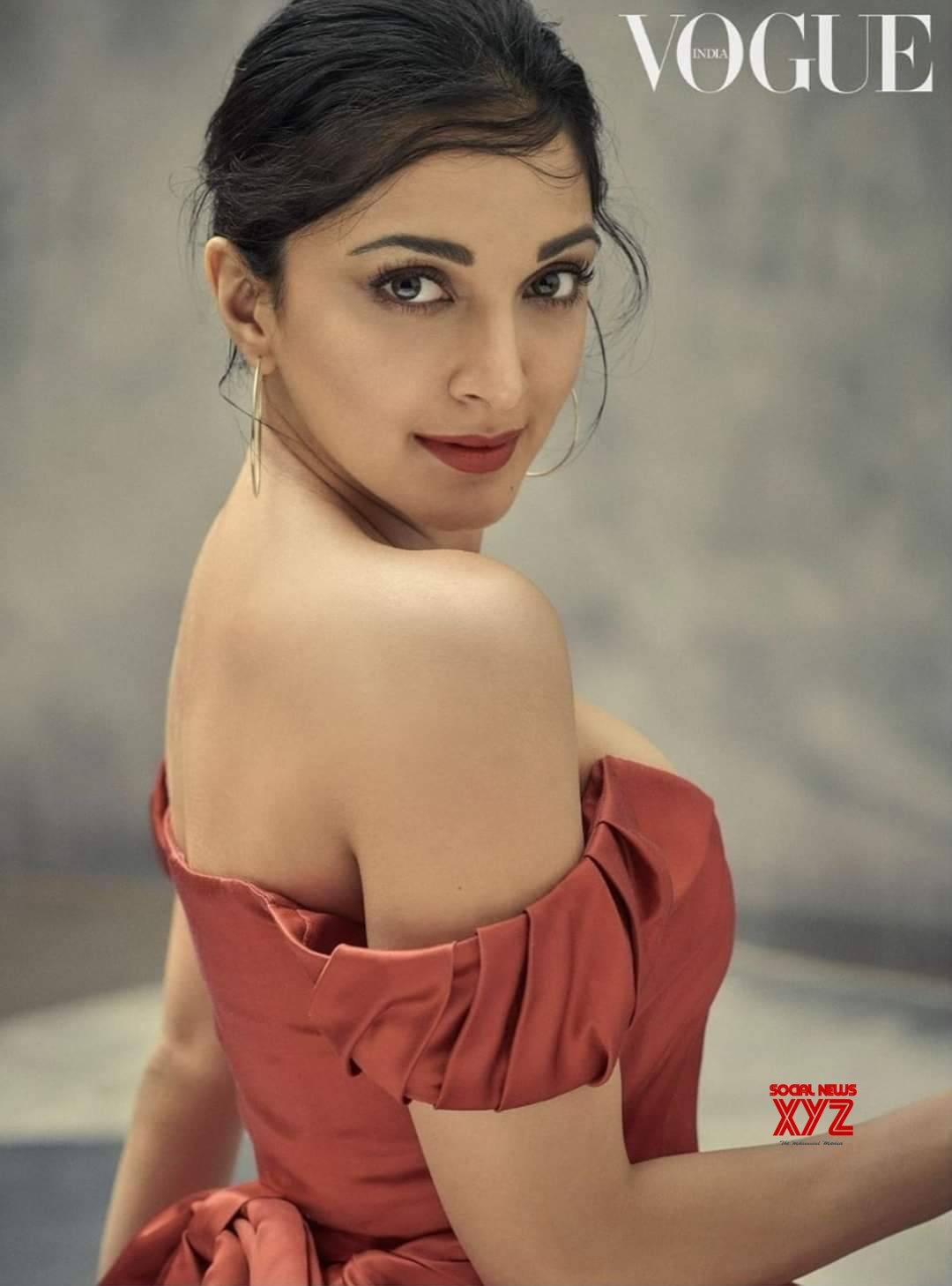 Actress Kiara Advani Hot And Sexy Stills From Vogue Magazine Cover Shoot