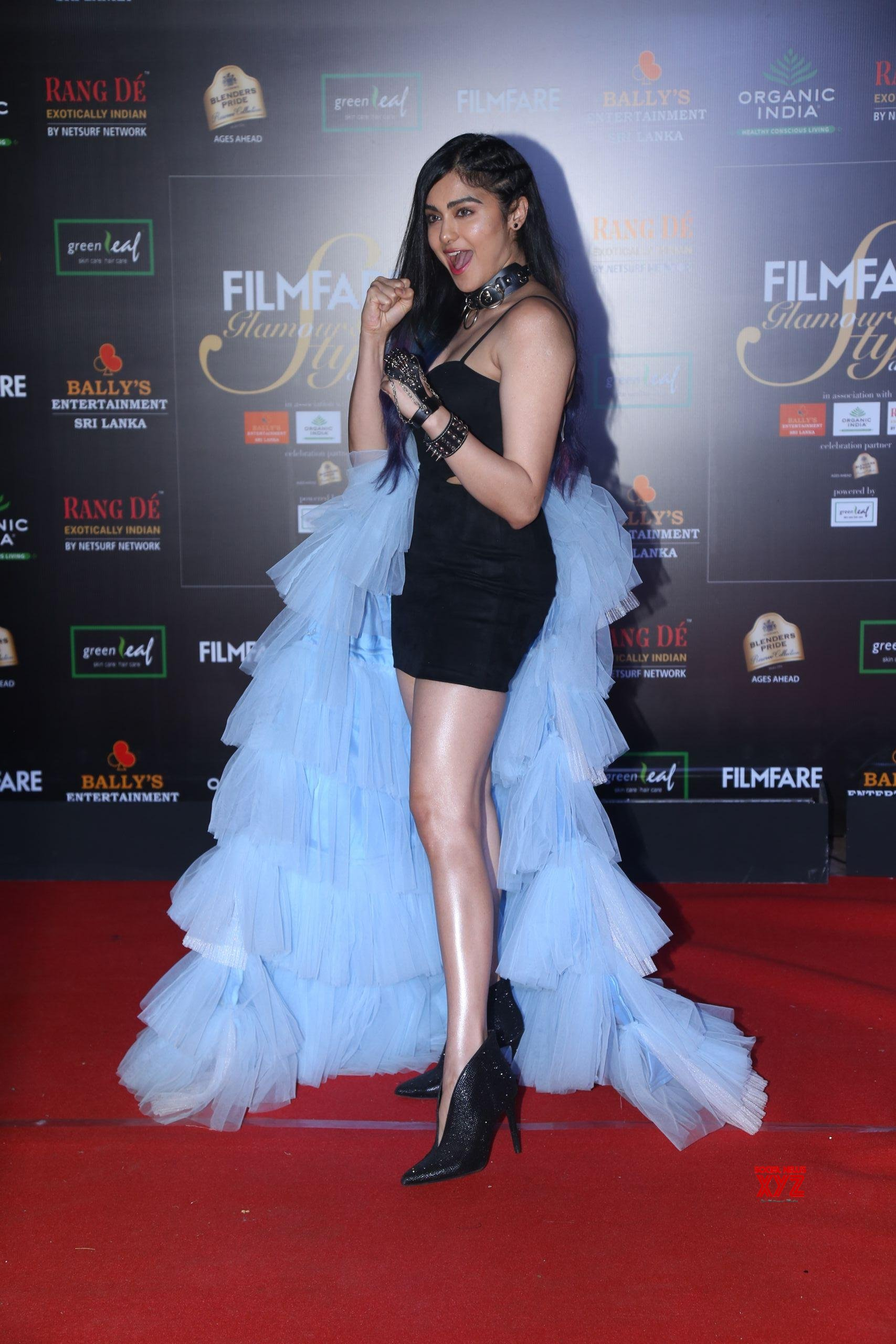 Actress Adah Sharma Hot HD Stills From Filmfare Glamour And Style Awards 2019 Red Carpet