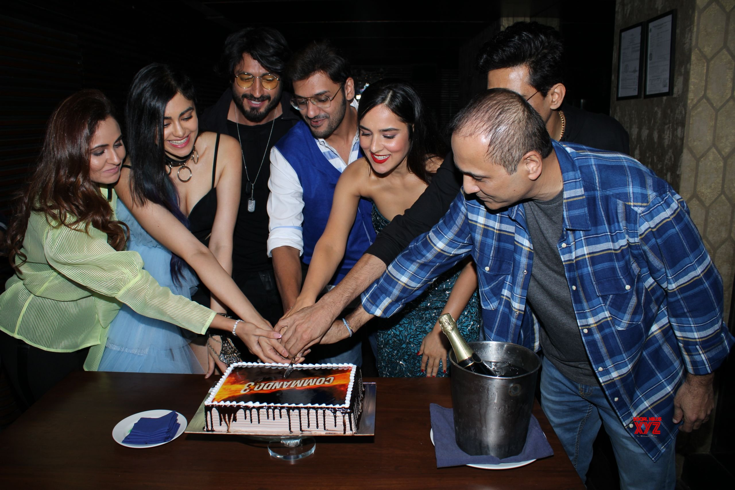 Vidyut Jammwal, Adah Sharma And Commando 3 Movie Team At Success Party Of The Film HD Gallery