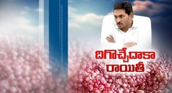 YS Jagan Offers Subsidized Onions In RythuBazars