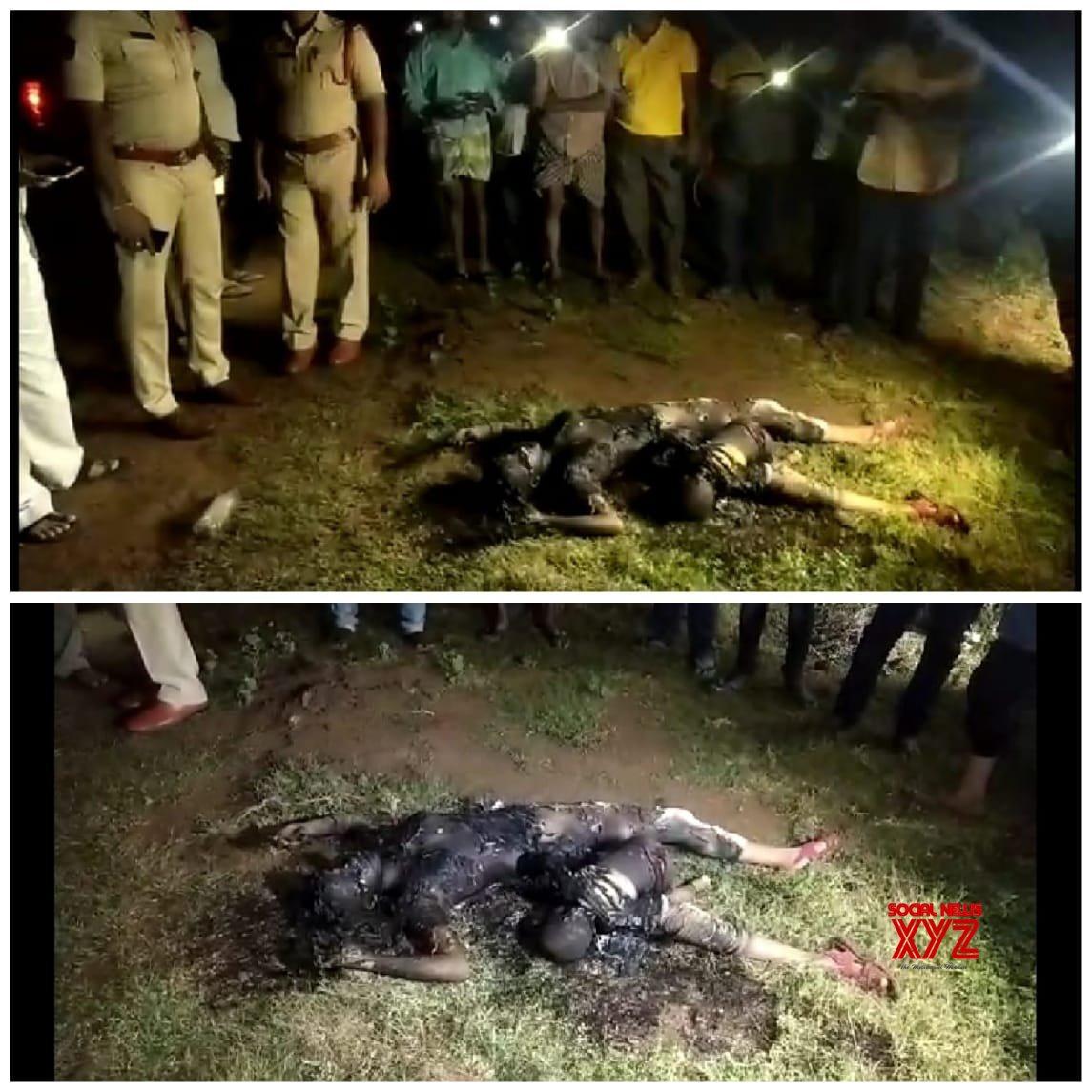 Maddipadu Mandal (Andhra Pradesh): Charred body of woman found in Prakasam #Gallery