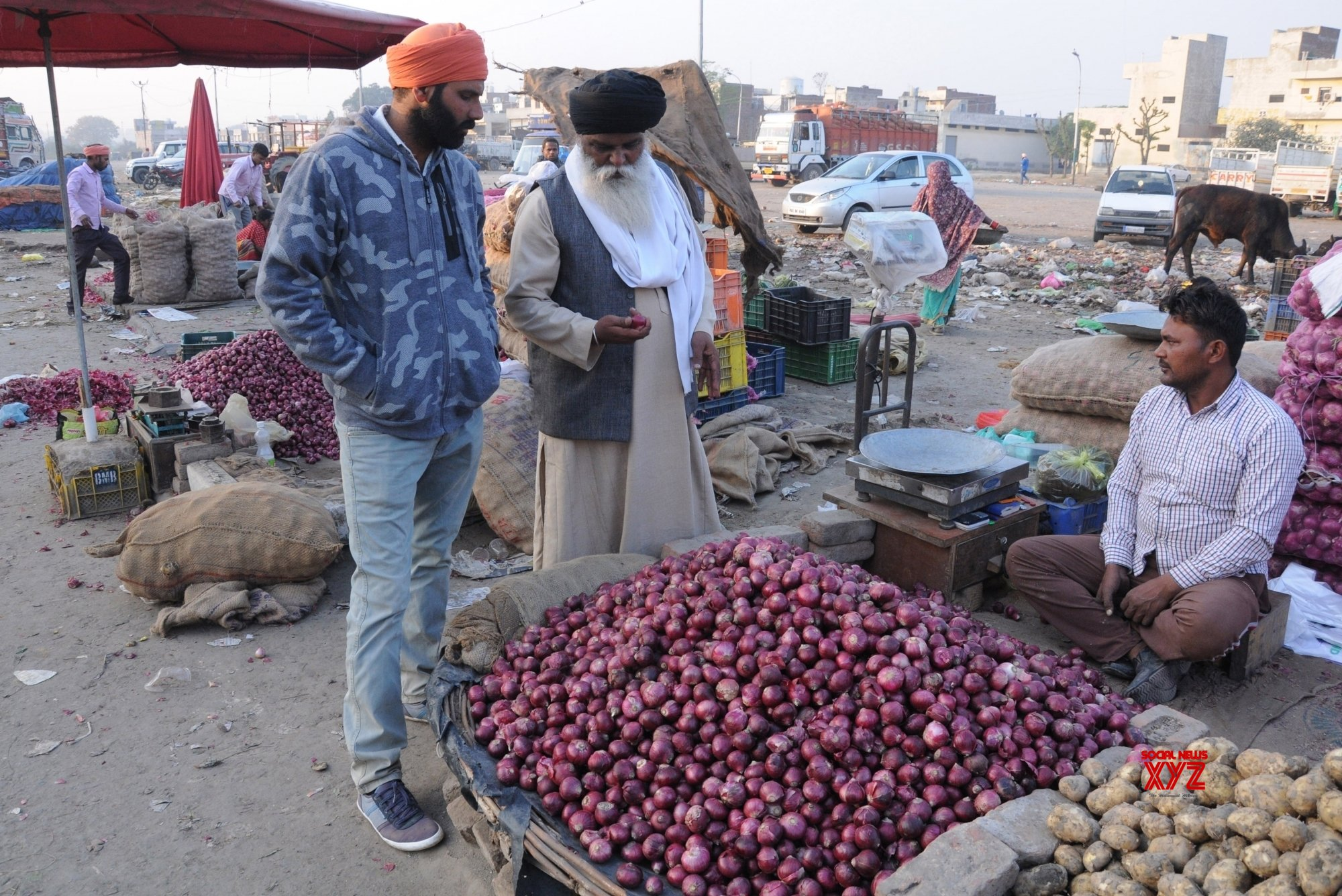 Amritsar: Onions at a wholesale market #Gallery
