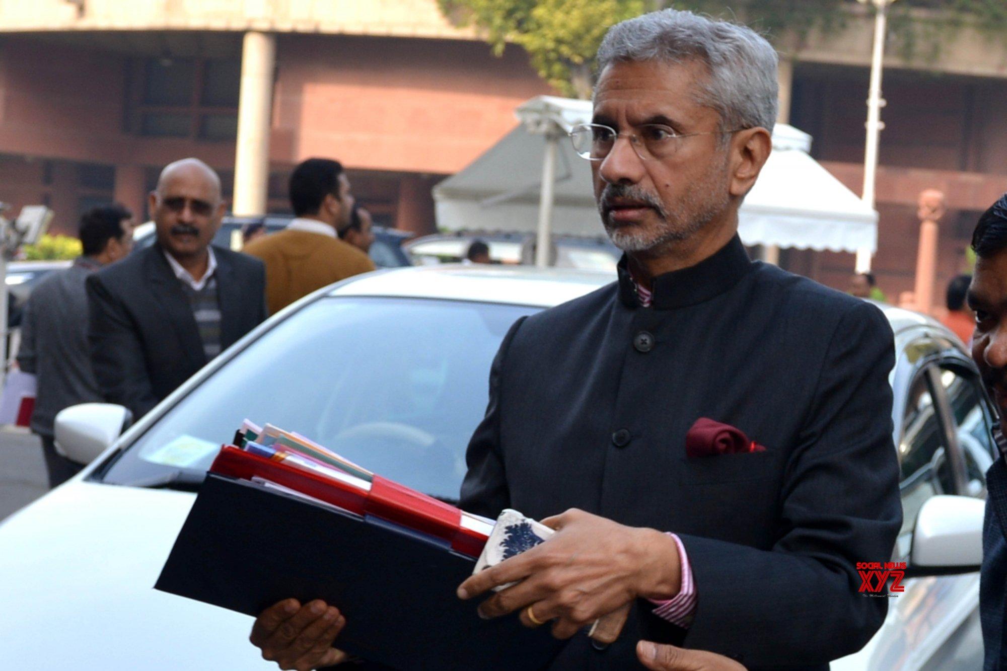 New Delhi: S Jaishankar at Parliament #Gallery