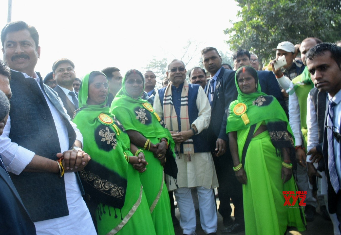 Suapual: Nitish Kumar reviews implementation of public welfare schemes in Bihar's Pipra #Gallery