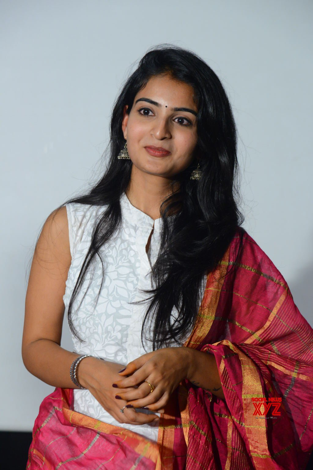 Actress Ananya Nagalla Stills From Play Back Movie Teaser Launch