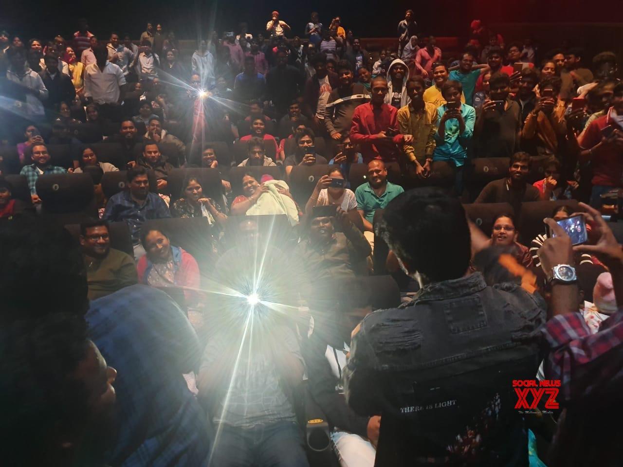 Arjun Suravaram Movie Hyderabad Success Tour Stills