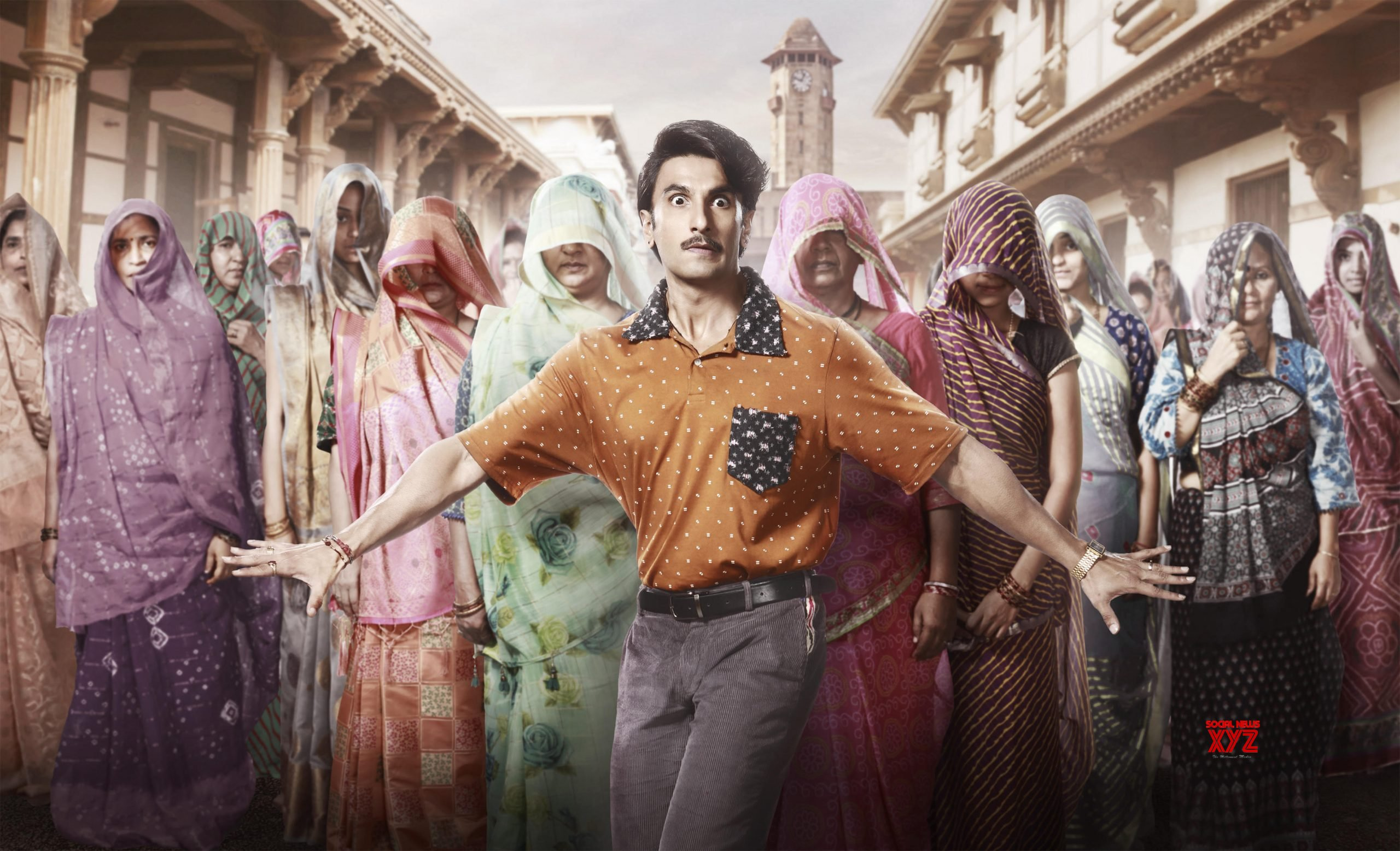 'Jayeshbhai is an unlikely hero!' : Ranveer Singh and YRF launches the first look of the hugely anticipated film Jayeshbhai Jordaar