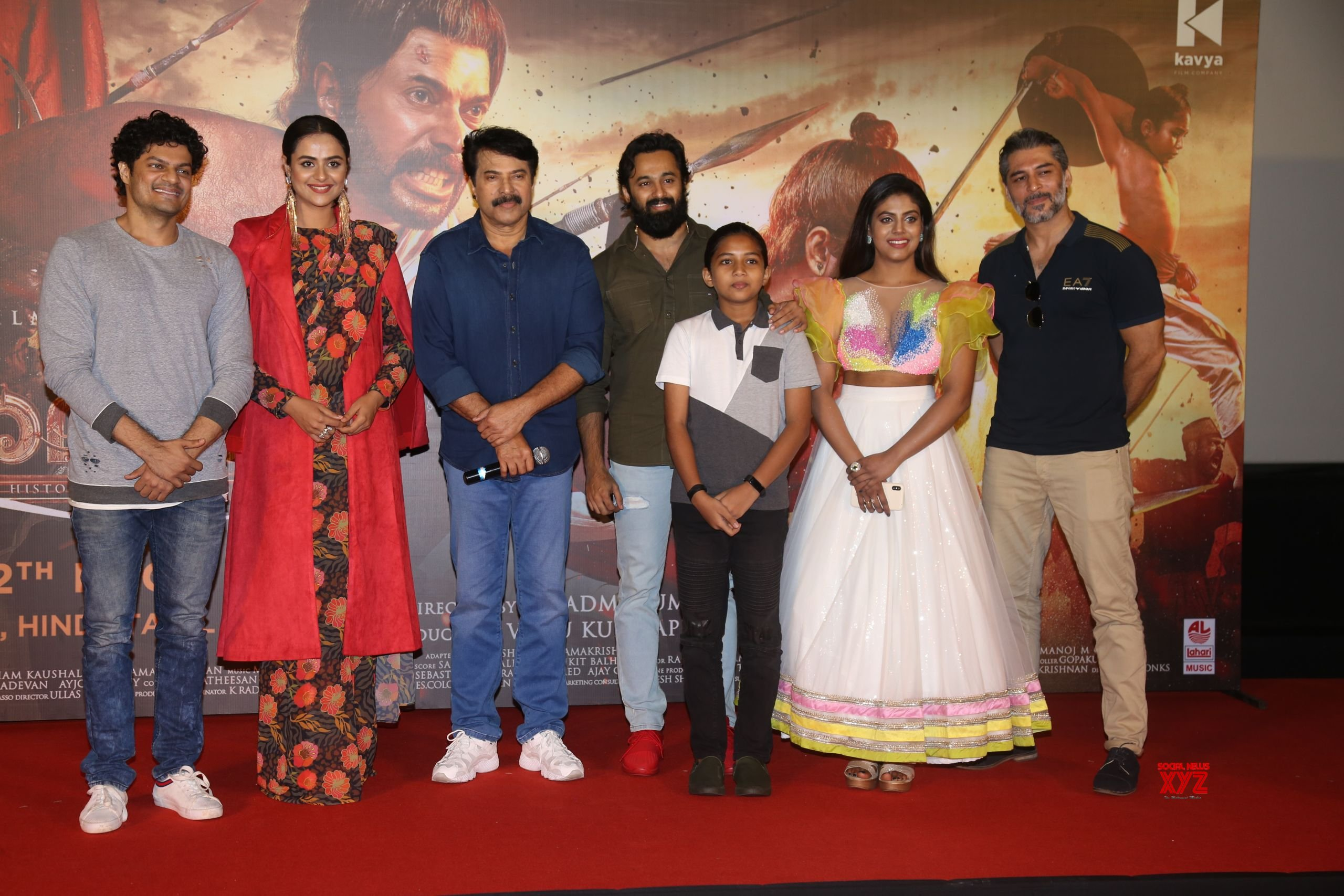 Mammootty At The Trailer Launch Of His Film Mamangam At PVR Juhu - Gallery
