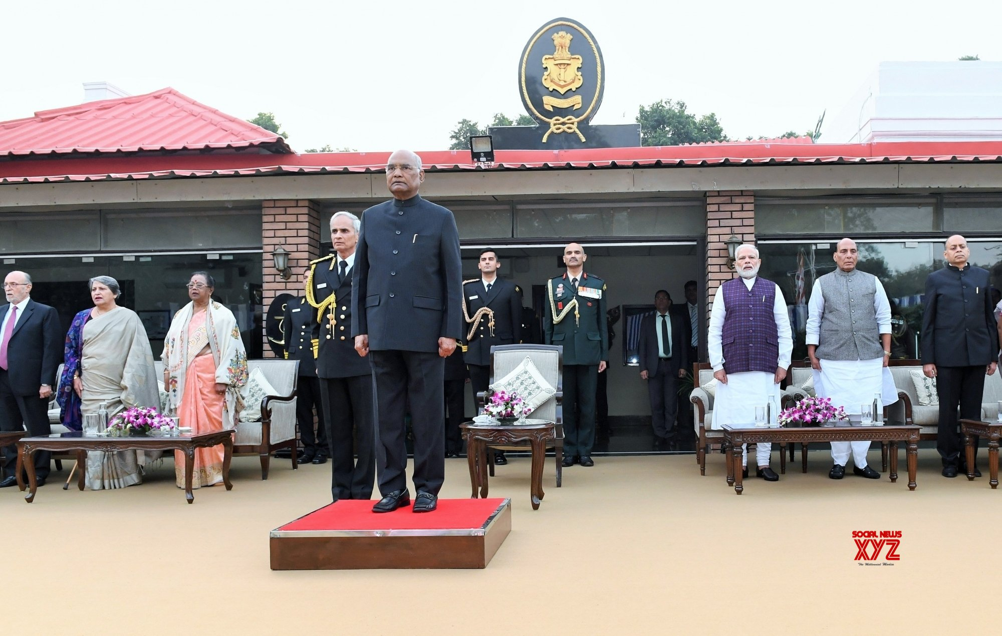 New Delhi: 'At Home' reception on Navy Day #Gallery