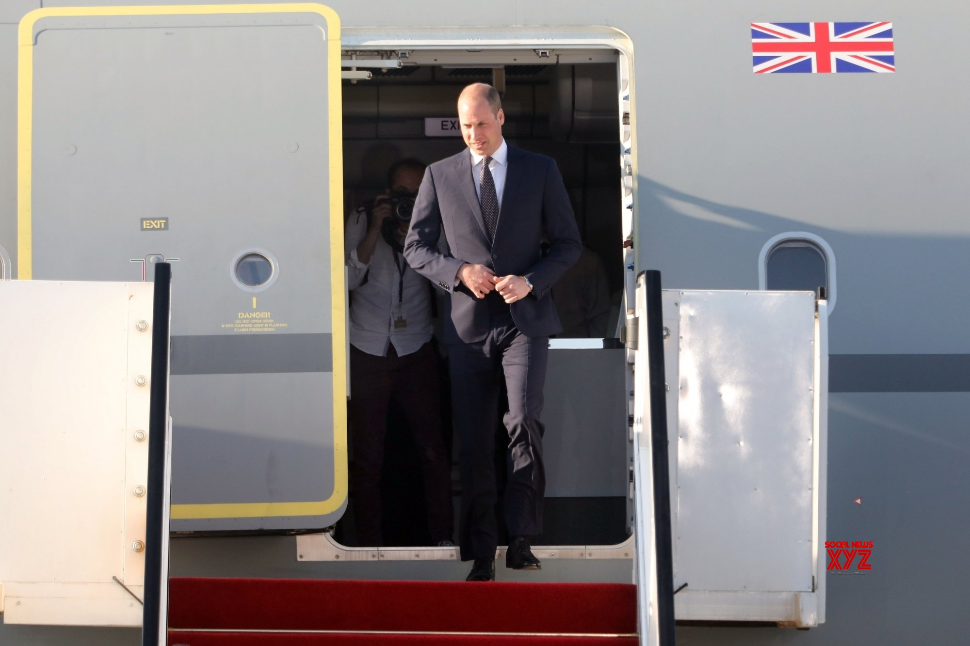 Prince William in Oman for 3-day visit