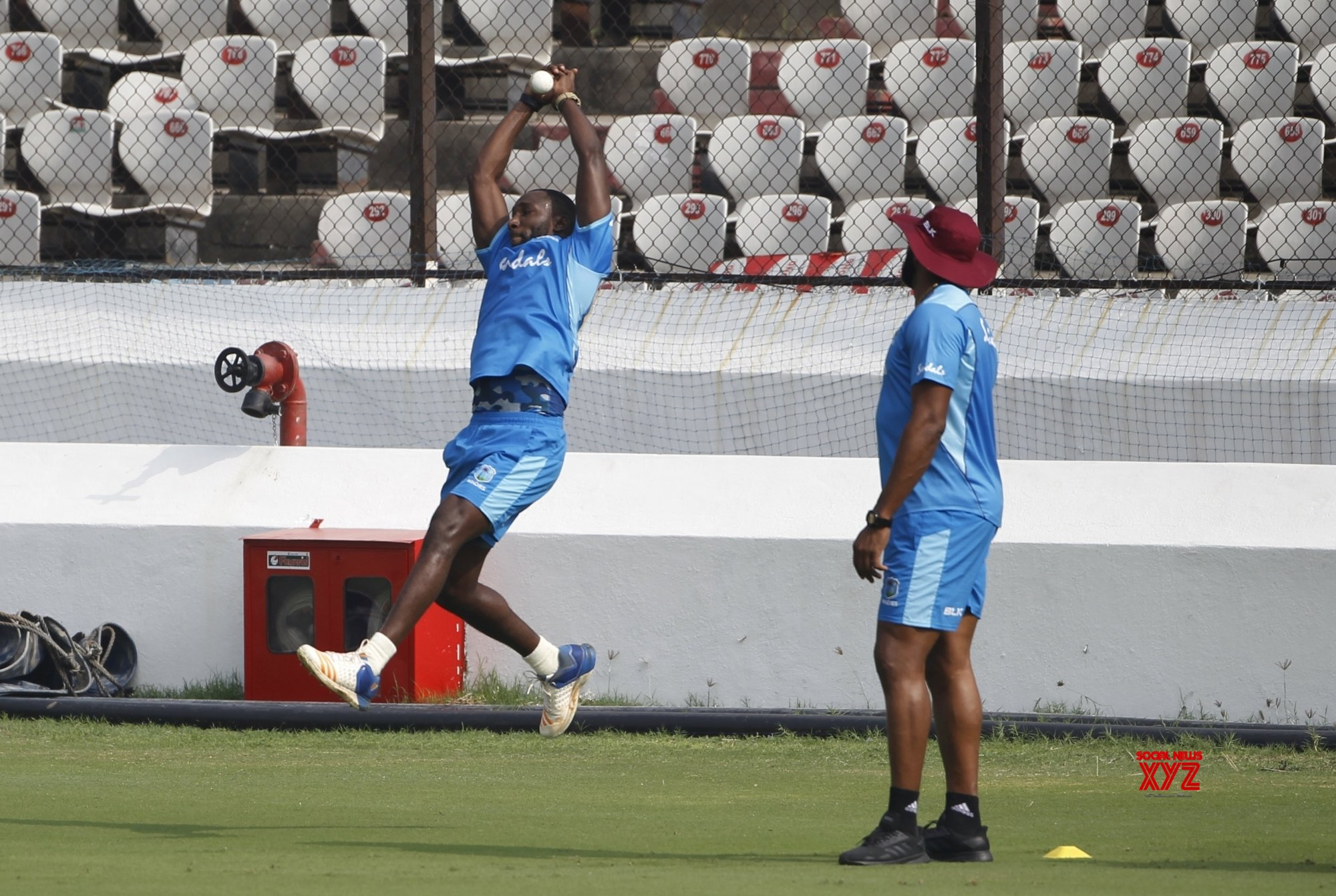 Hyderabad: West Indies - practice session #Gallery