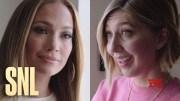 SNL Host Jennifer Lopez and Heidi Gardner Try to Light the Rockefeller Center Christmas Tree #SNL (Video)
