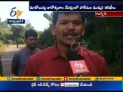 Police continue combing operation at Vizag  (Video)