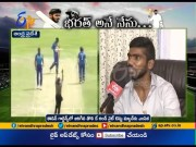 Vizag Young Cricketer Srikar Bharat Interview | Over Joins the Indian Test Squad  (Video)