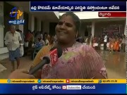 Onion Prices To Skyrocket   Touched Rs.125 Per Kg   In Kurnool  (Video)
