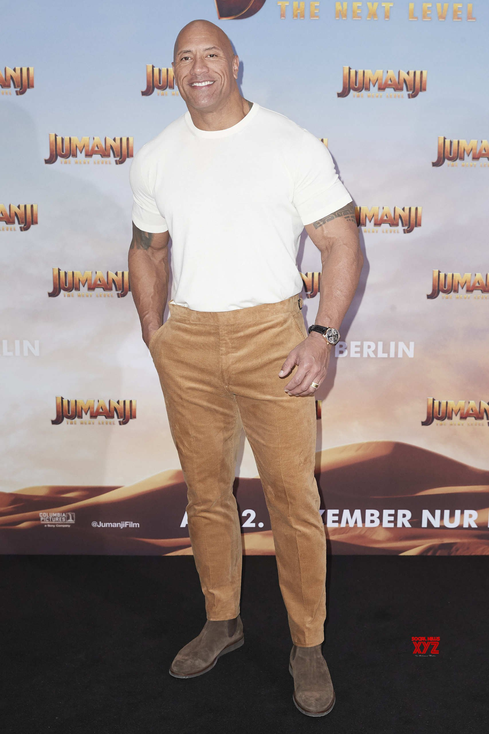 Jumanji: The Next Level Movie Berlin Photo Call HD Gallery