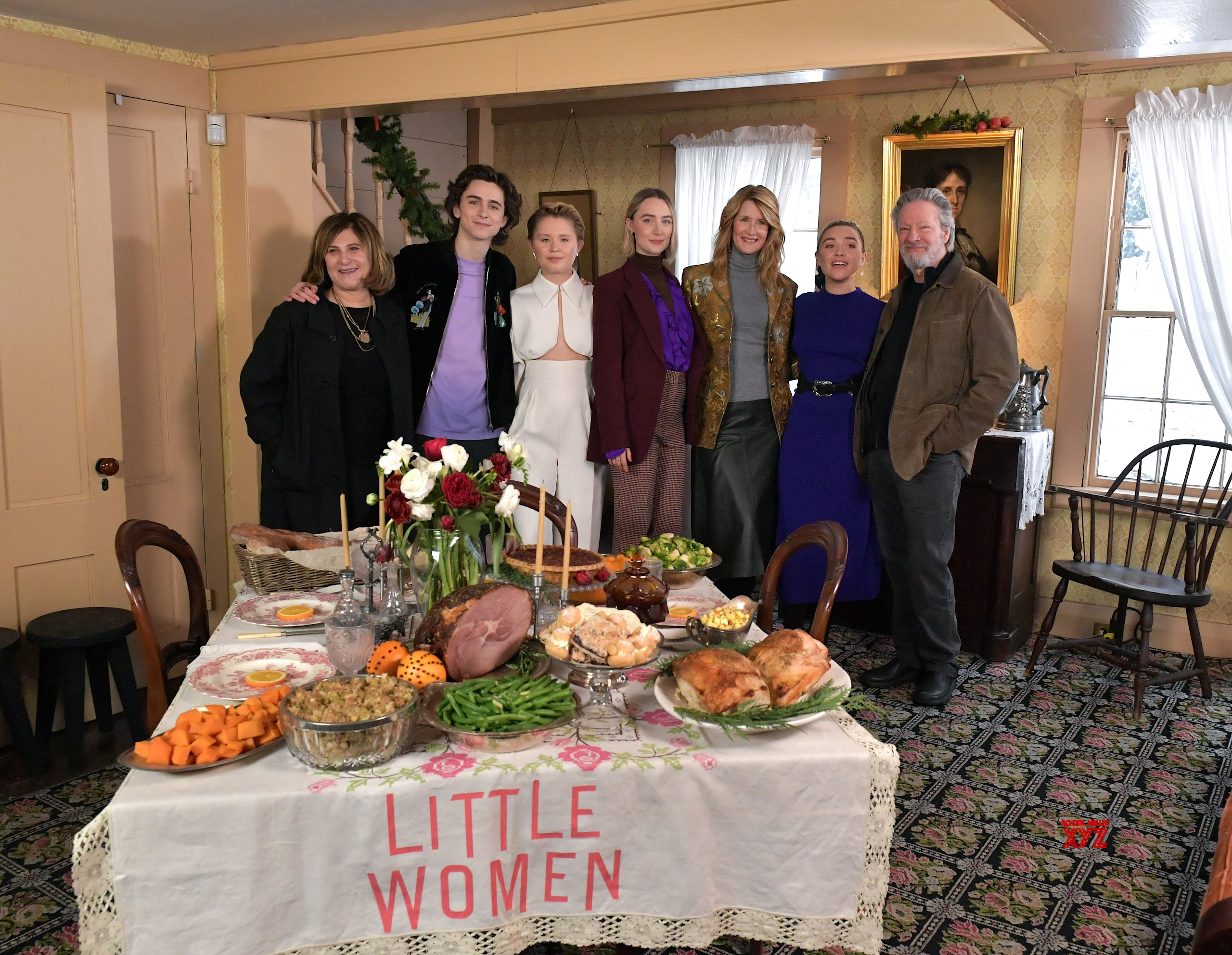 Little Women Movie Photo Call At Louisa May Alcott Orchard House HD Gallery