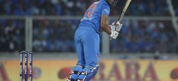 Thiruvananthapuram: India's Shivam Dube in action during the second T20I match between India and West Indies at the Greenfield International Stadium in Thiruvananthapuram, Kerala on Dec 8, 2019. (Photo: Surjeet Yadav/IANS)