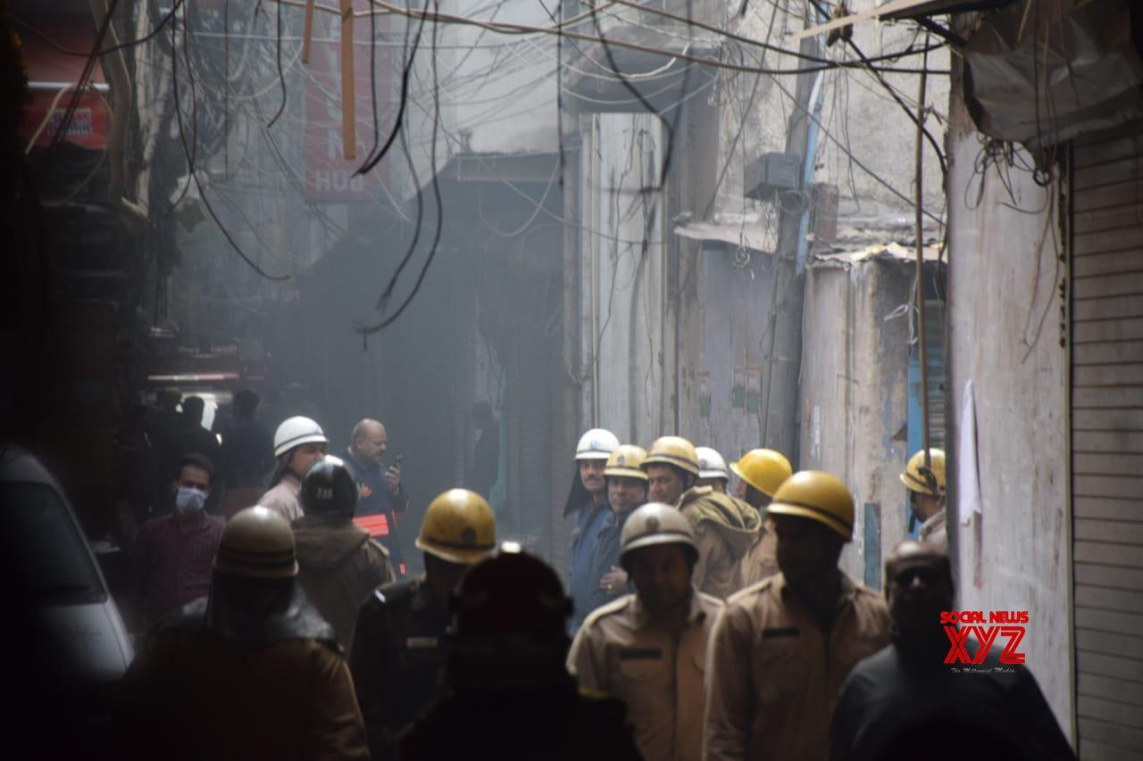 Kejriwal orders probe in Delhi fire, Rs 10 lakh assistance