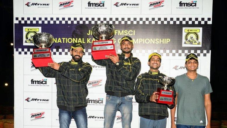 Karthik, Aditya claim JK Tyre National Karting C'ship