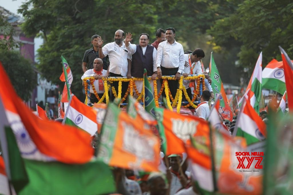 Panaji: Nadda kicks off pro - CAA rally in Goa #Gallery