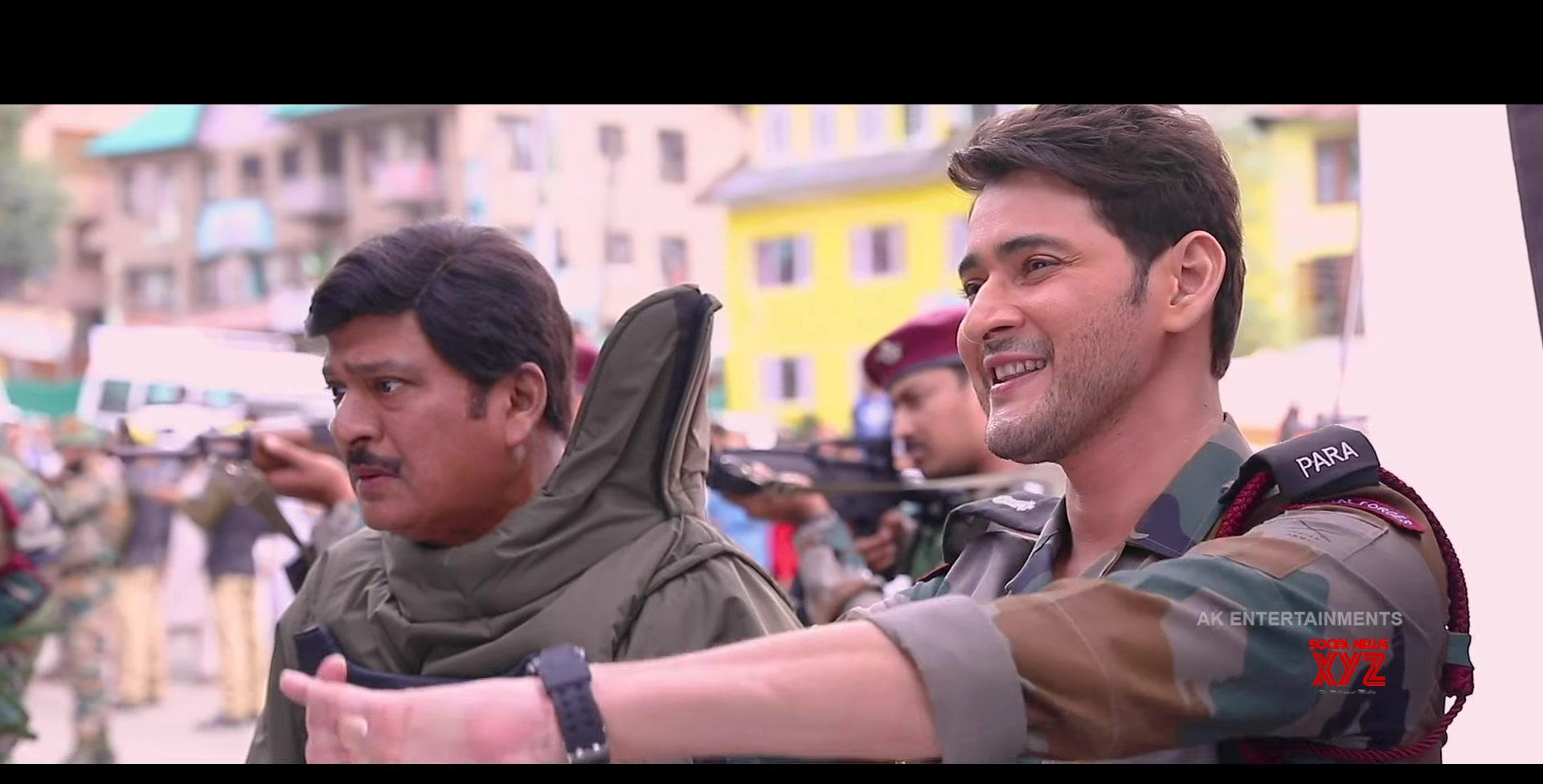 The Vibe Of Sarileru Neekevvaru Movie Stills