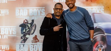 MADRID, SPAIN - JAN. 8, 2019 - Martin Lawrence and Will Smith attend the Madrid photo call for BAD BOYS FOR LIFE