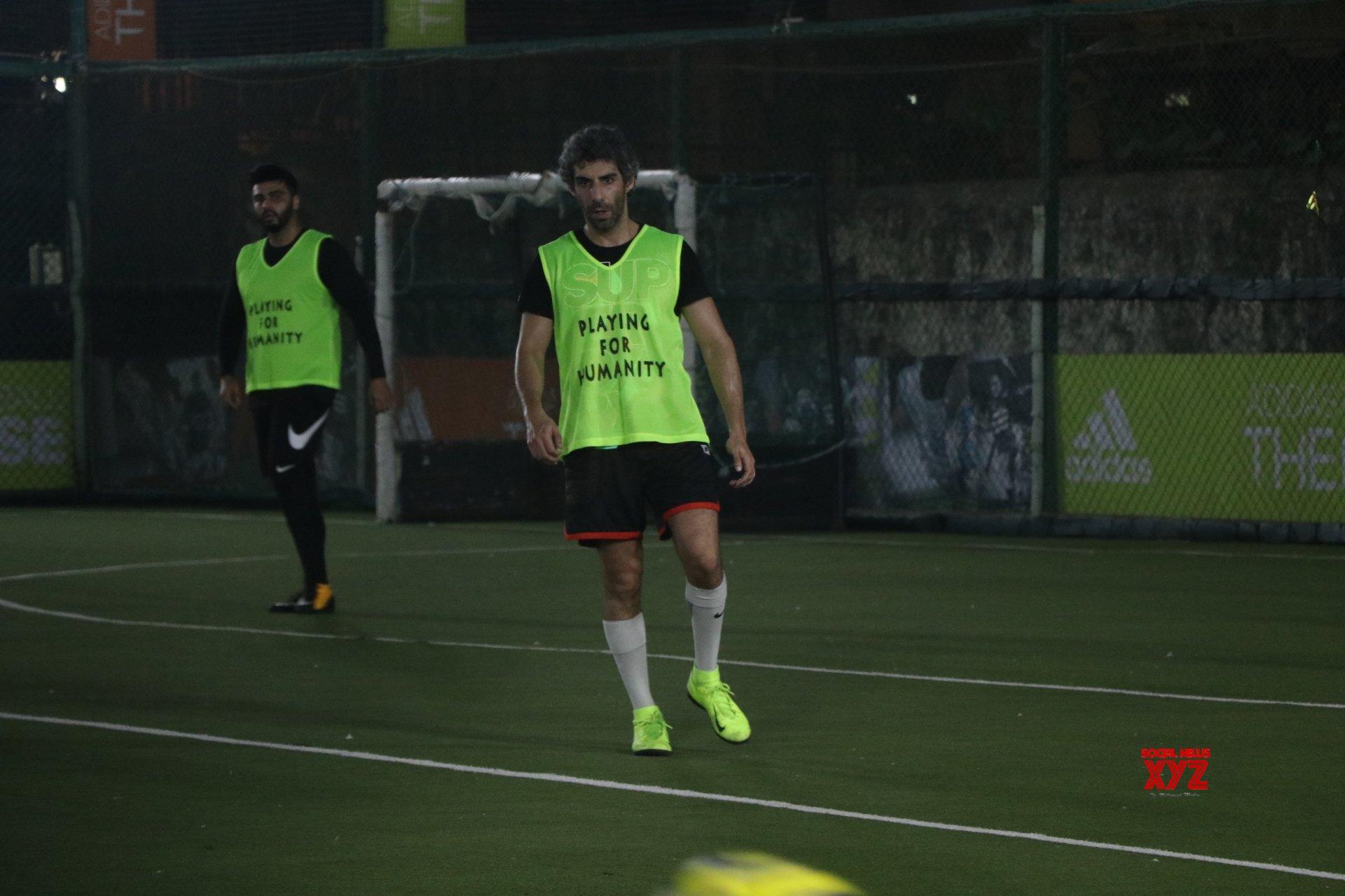 Mumbai: Celebs during football match #Gallery