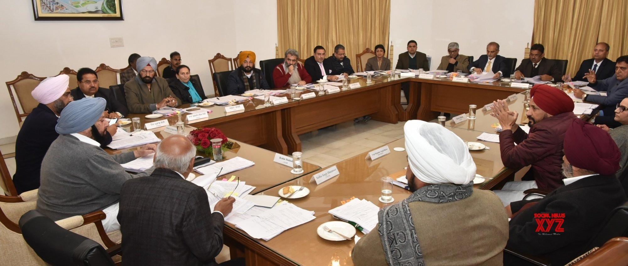 Chandigarh: Cabinet meeting - Amarinder Singh #Gallery