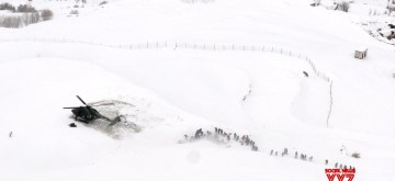 The Indian Army's Fire and Fury Corps has rescued six seriously ill tourists who were stranded during a trek on the Zanskar river in Ladakh after multiple search and rescue columns were launched. The group of tourists were stranded in bad weather while undertaking the annual 'Chaddar Trek' on the frozen Zanskar river in Ladakh.