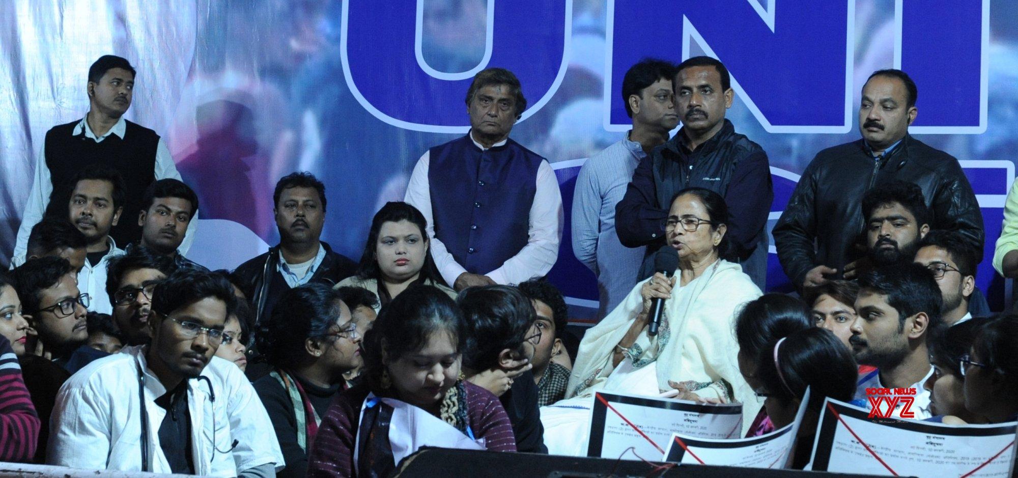 Kolkata: TMC's protest against CAA, NRC, NPR #Gallery