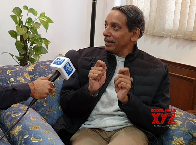 New Delhi: JNU VC during interview with IANS #Gallery