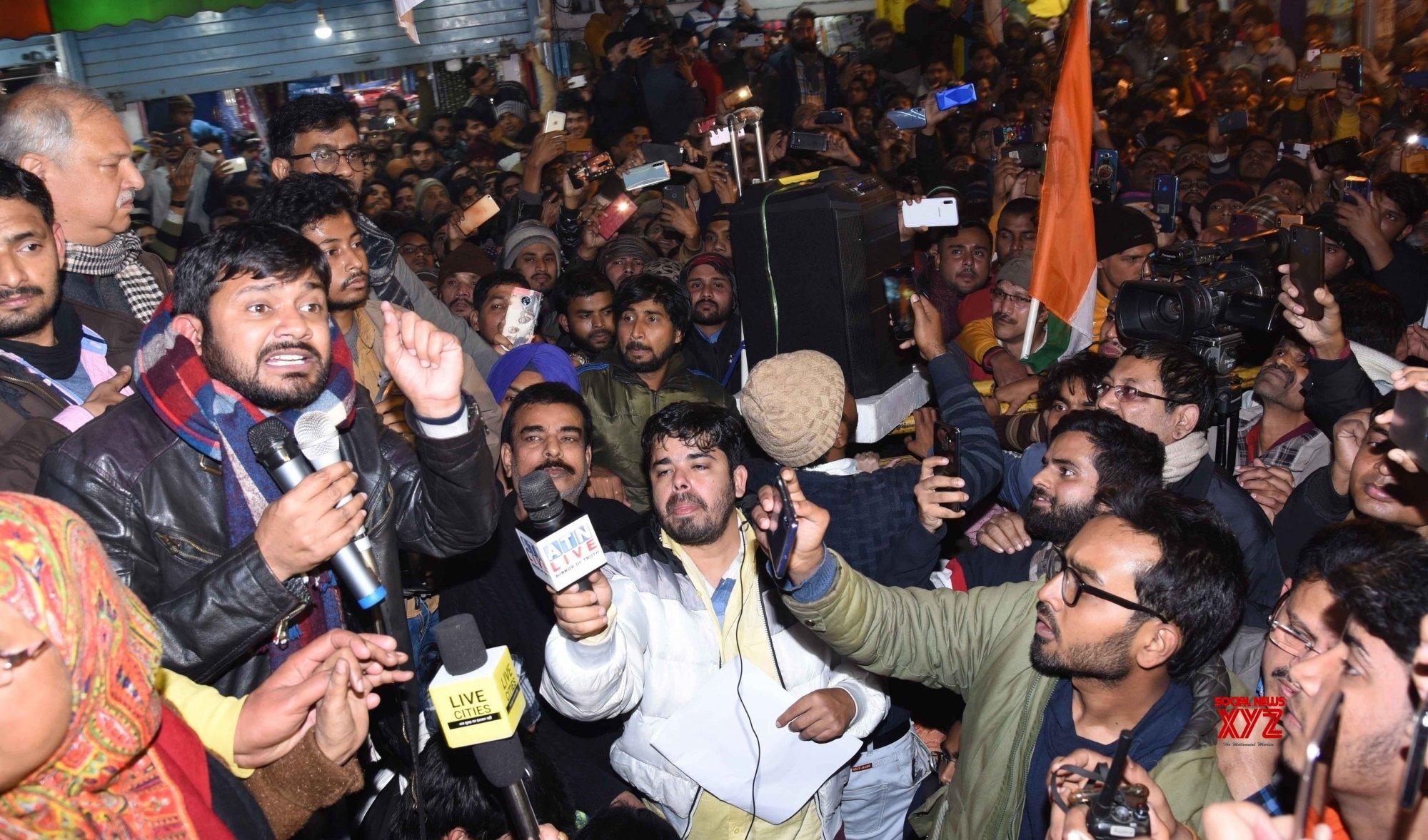 Patna: Kanhaiya Kumar's protest against CAA, NRC #Gallery