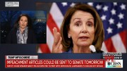 House Speaker Nancy Pelosi could transfer impeachment articles to the Senate as early as tomorrow (Video)
