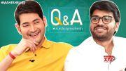 Mahesh Babu Interesting Answers To Fans | Q&A with Twitter Fans | Sarileru Neekevvaru |Anil Ravipudi (Video)