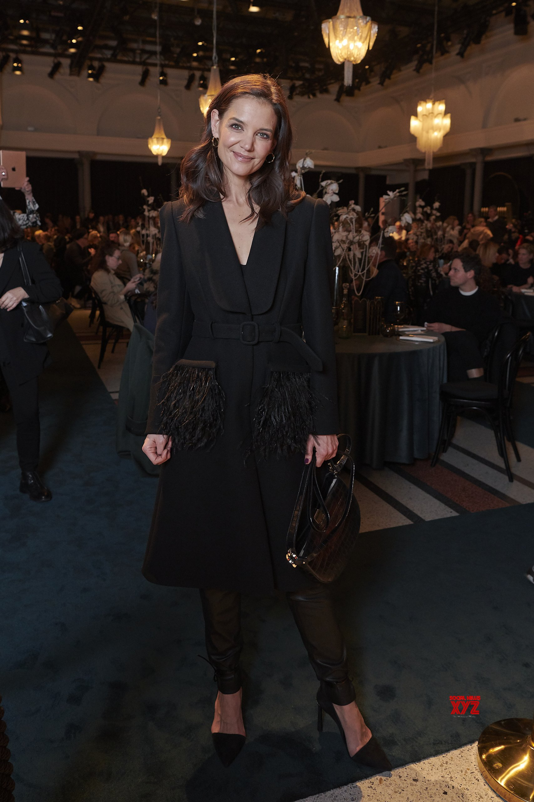 Katie Holmes And Other Celebs At Marc Cain Fashion Show In Berlin Fashion Week Autumn Winter 2020 Gallery Social News Xyz