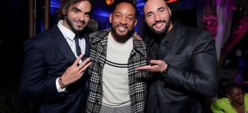 Hollywood, CA – January 14, 2020: Adil El Arbi, Director, Will Smith, Actor/Producer, and Bilall Fallah, Director, attend the Los Angeles Premiere of Columbia Pictures BAD BOYS FOR LIFE.
